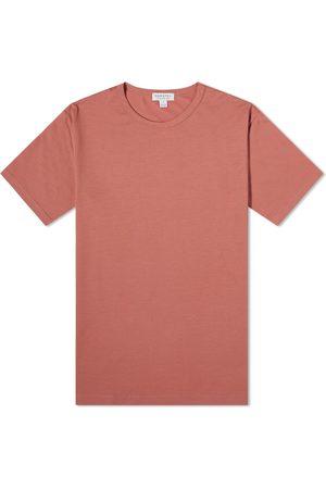 Sunspel Men Short Sleeve - Classic Crew Neck Tee