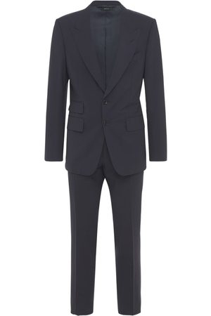 Tom Ford Single Breast Stretch Wool Day Suit