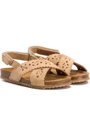 Pèpè Girls Sandals - Laser-cut sandals