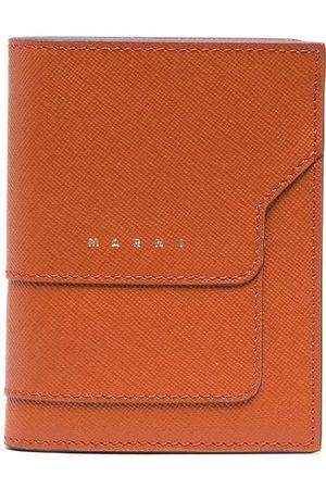 Marni Women Wallets - Saffiano leather bi-fold wallet