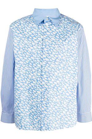 Marni Cloud-print cotton shirt