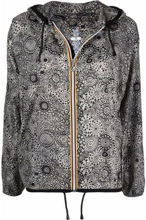10 CORSO COMO Parkas - X K-Way paisley-print raincoat - Neutrals