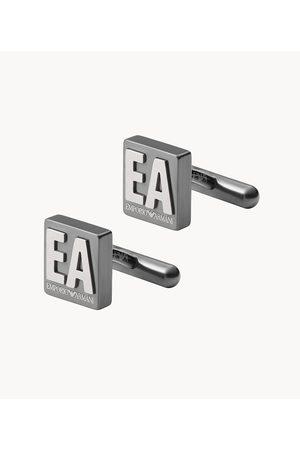Mens Emporio Armani Men's Stainless Steel Cufflinks