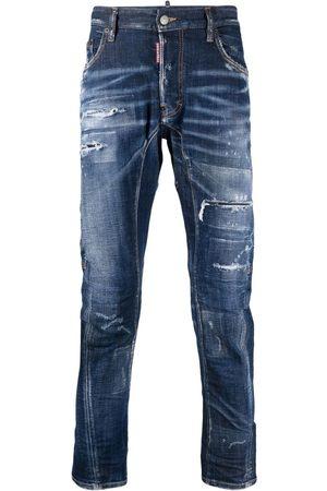 Dsquared2 Men Skinny - Distressed-effect skinny jeans