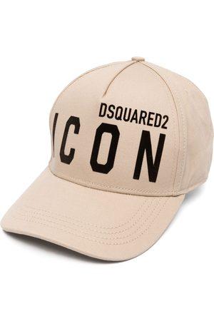 Dsquared2 Icon logo-embroidered cap - Neutrals