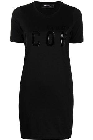 Dsquared2 Logo-print shirt dress