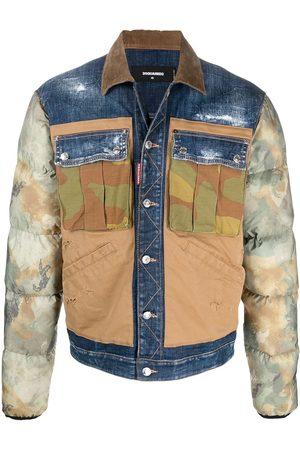 Dsquared2 Patchwork denim jacket