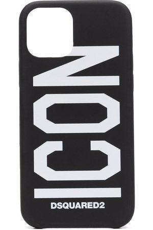 Dsquared2 Men Phones Cases - Icon logo iPhone 12 Pro case