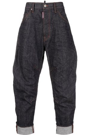 Dsquared2 Rear logo print tapered jeans