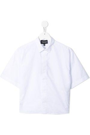 Emporio Armani Boys Short sleeves - Short-sleeve cotton shirt