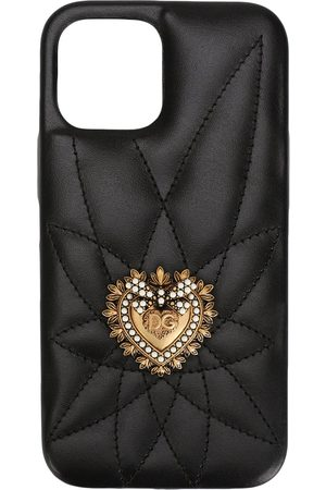 Dolce & Gabbana Women Phones Cases - Quilted iPhone 11 Pro case