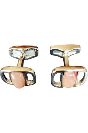 Salvatore Ferragamo Steel Cufflinks