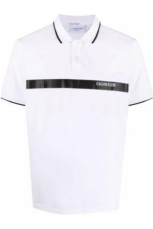 Calvin Klein Logo-print polo shirt
