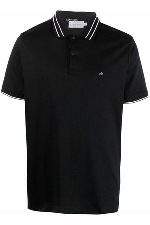 Calvin Klein Embroidered-logo polo shirt