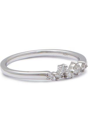 Adina Reyter Women Rings - Woman Sterling Diamond Ring Size 5