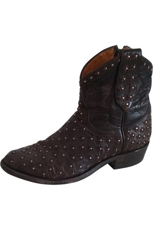 Mexicana Leather Ankle Boots
