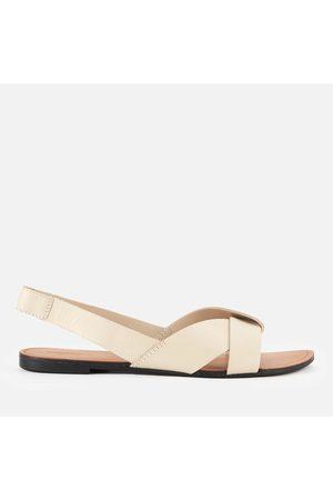 Vagabond Women Sandals - Women's Tia Leather Flat Sandals