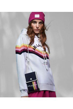Karl Lagerfeld Women Hoodies - STRIPED HOODIE