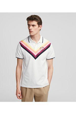 Karl Lagerfeld Men Polo Shirts - STRIPED POLO SHIRT