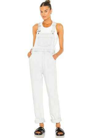 WeWoreWhat Basic Overall in Blue.