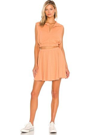 Free People X REVOLVE Ace Set in Peach.