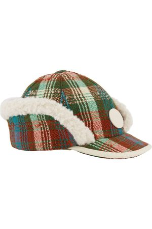 Gucci Kids - & Check Cap with Ear Flaps - Unisex - S (52cm) - - Trapper hats