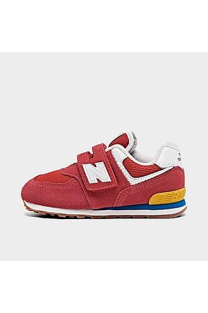 New Balance Boys' Toddler 574 Suede Casual Shoes Size 4.0