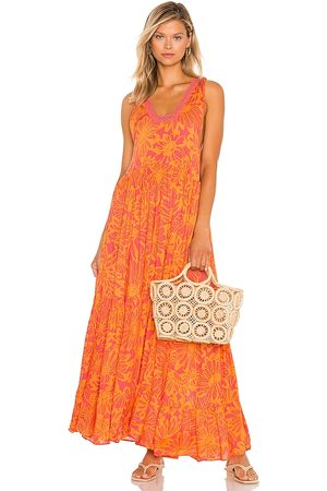 Free People Tiers For You Maxi in Orange.