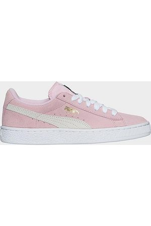 PUMA Girls' Big Kids' Suede Casual Shoes in / Lady Size 5.0