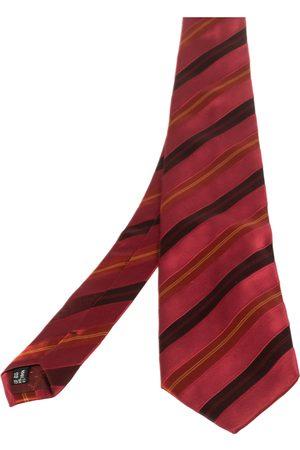 Salvatore Ferragamo Dark Diagonal Striped Silk Tie