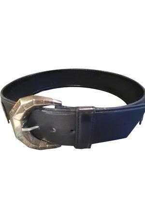 CLAUDE MONTANA Leather belt