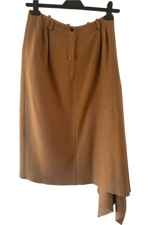 NEHERA Wool mid-length skirt