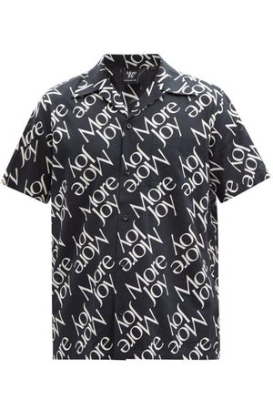 Christopher Kane More Joy-print Cotton-blend Shirt - Mens