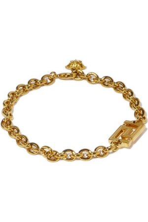 VERSACE Women Bracelets - Greca-charm Chain Bracelet - Womens
