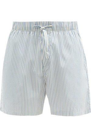 Tekla Drawstring-waist Organic-cotton Pyjama Shorts - Mens