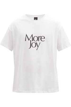Christopher Kane More Joy-print Cotton-jersey T-shirt - Mens