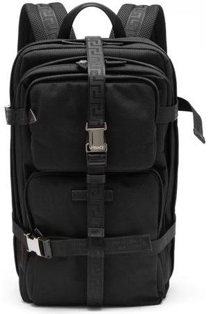 VERSACE Greca-straps Technical Backpack - Mens