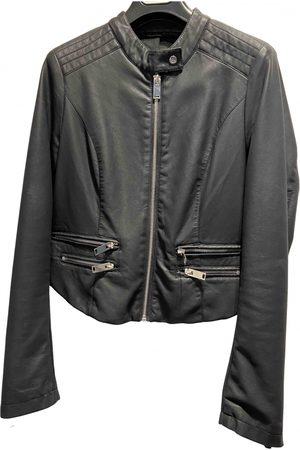 Silvian Heach Polyester Leather Jackets