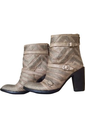 Mexicana Leather biker boots