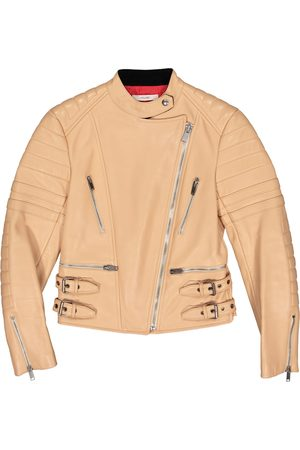 Céline Leather Leather Jackets