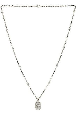 Gucci Men Necklaces - GG Marmont Necklace in Metallic