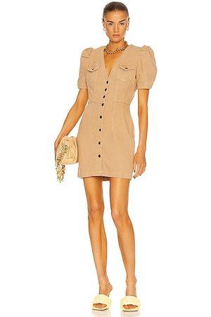 Retrofete Morgan Dress in Tan