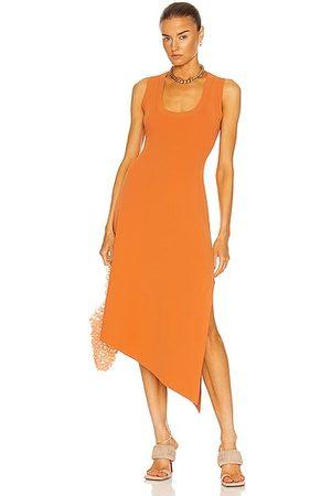 A.L.C. Cherrie Dress in Orange