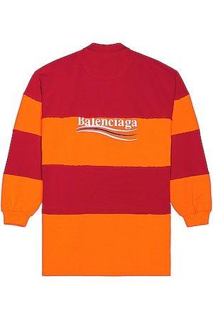 Balenciaga Men Polo Shirts - Cut Up Polo in