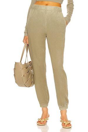 Cotton Citizen Women Sweatpants - Brooklyn Sweatpant in Sage