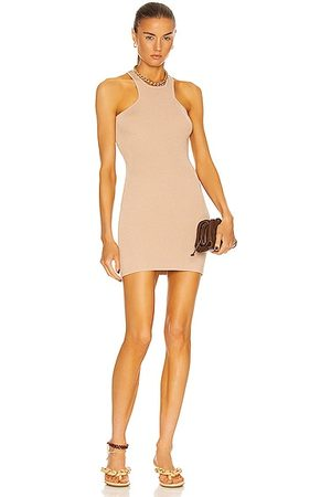 GAUGE81 Avila Short Dress in Tan