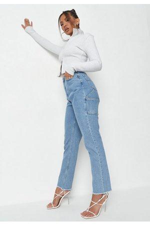 Missguided Sean John X Wrath Straight Leg Jeans
