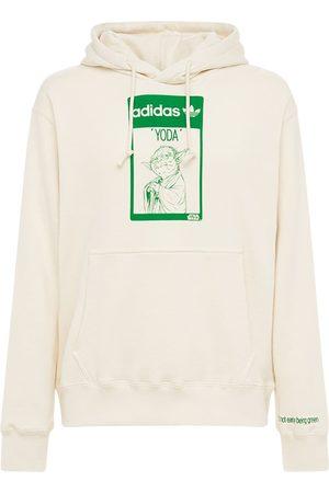 adidas Men Hoodies - Yoda Organic Cotton Hoodie