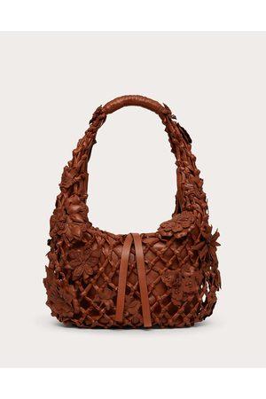 VALENTINO GARAVANI Women Shoulder Bags - 06 Lace Edition Atelier Hobo Bag Women Saddle 100% Lambskin OneSize