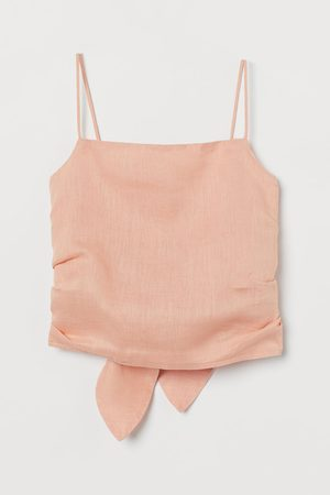 H&M Women Camisoles - Linen Camisole Top